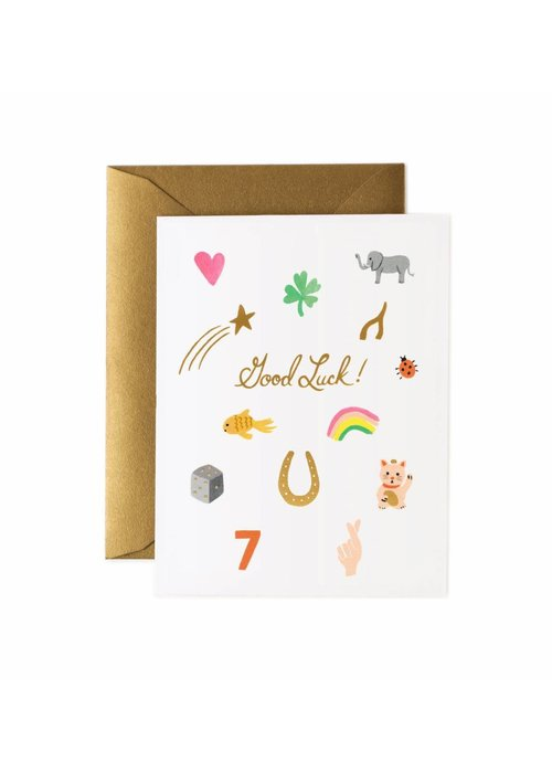 Rifle Paper Good Luck Charms Card