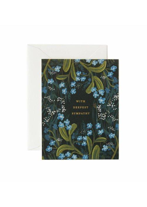Rifle Paper Deepest Sympathy Bouquet Card