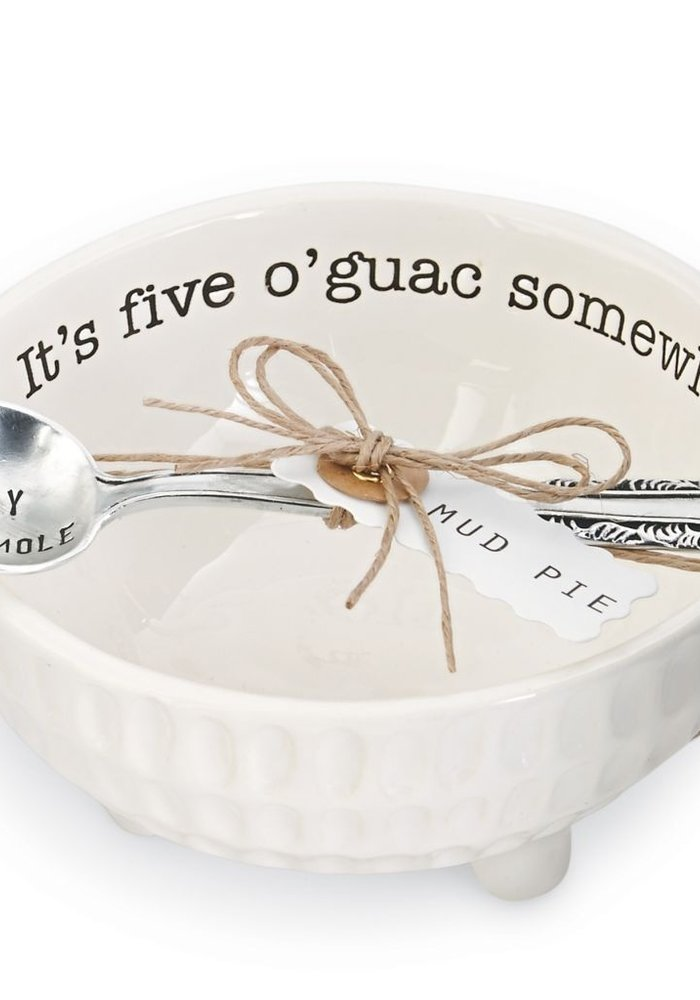 It's Five O'Guac Somewhere Guacamole Dip Cup Set