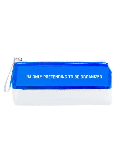 Pretending To Be Organized Pencil/Makeup Bag