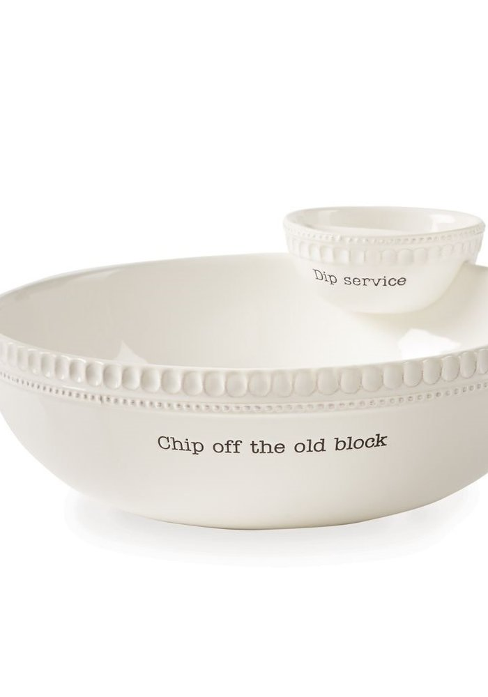 Chip Off the Old Block Stacked Chip & Dip Set