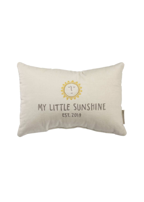 My Little Sunshine Est. 2019 Pillow