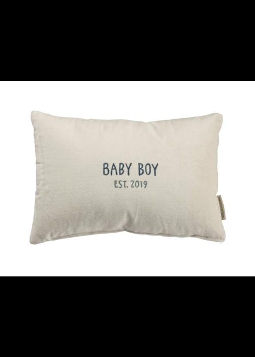 Baby Boy Est. 2019 Pillow