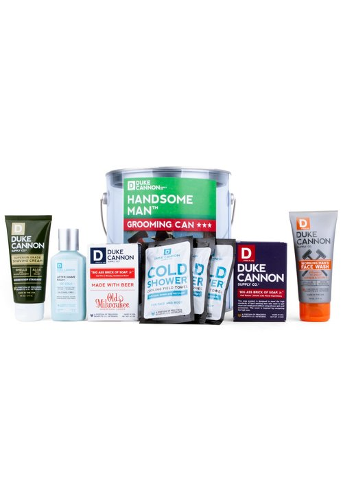 Duke Cannon Handsome Man Grooming Can Travel Set