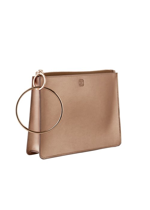 Oventure Rose Gold Big O Bracelet Bag
