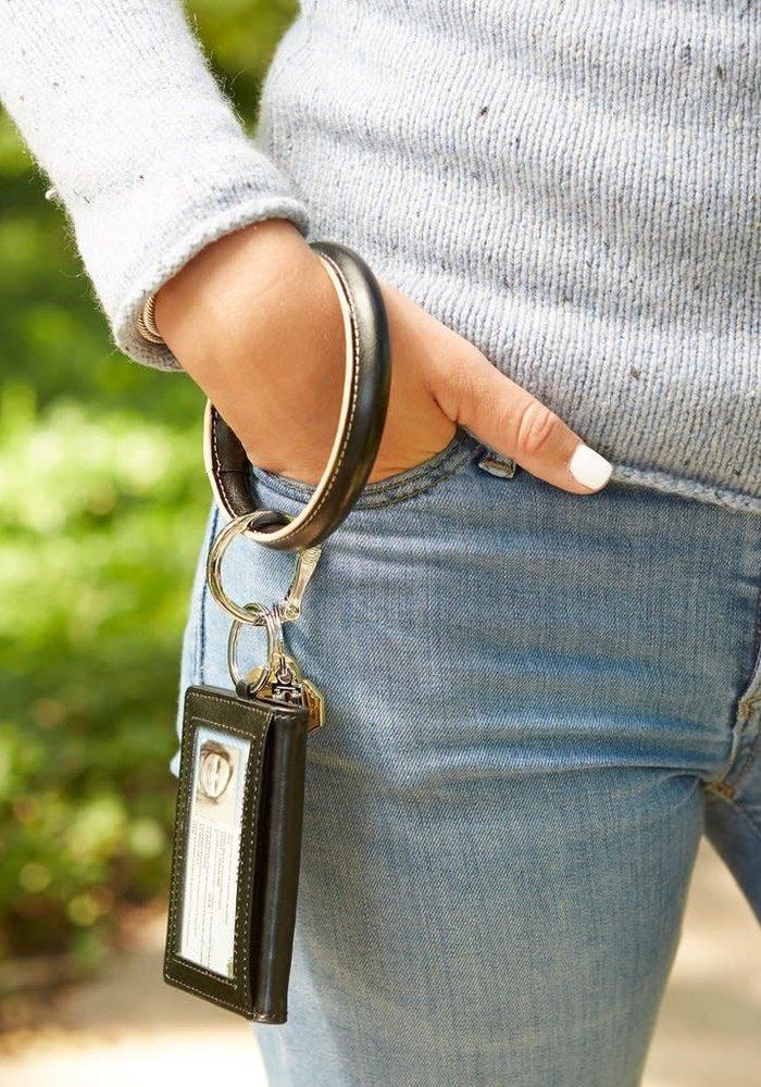 Back in Black O Ring ID Case