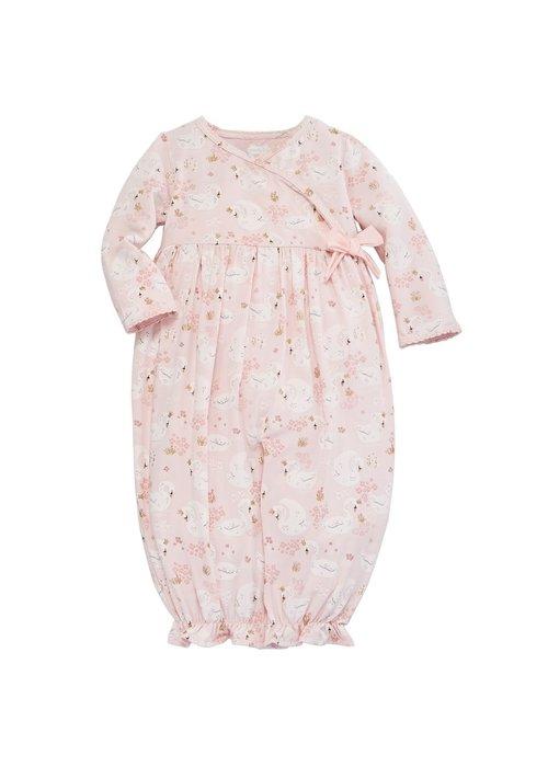 Mudpie Swan Convertible Gown/Playwear 3M