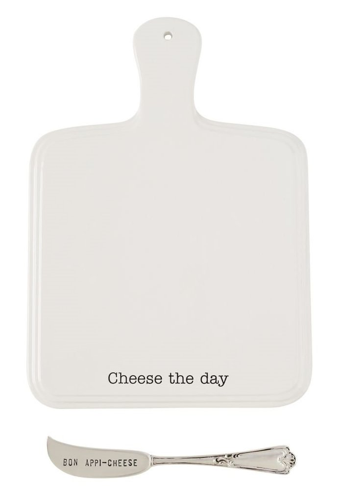 Cheese the Day Board Set