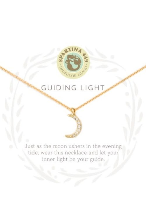 "Spartina 449 Sea La Vie ""Guiding Light"" Gift Message Necklace"