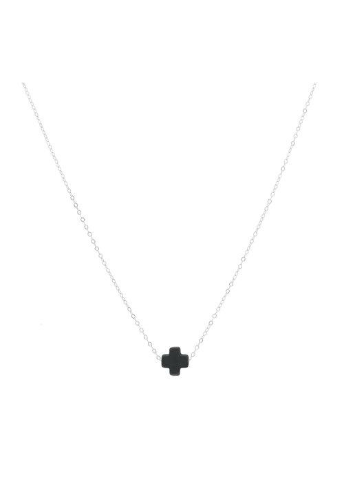 Enewton Signature Cross Necklace