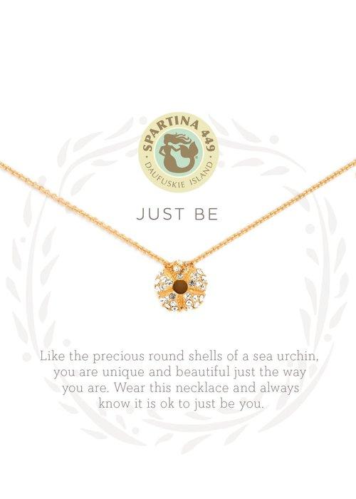 "Spartina 449 Sea La Vie ""Just Be"" Gift Message Necklace"