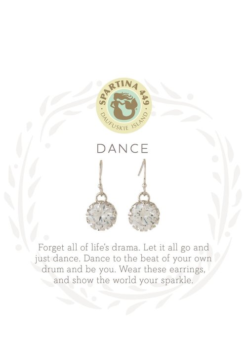 "Spartina 449 Sea La Vie ""Dance"" Gift Message Earrings"