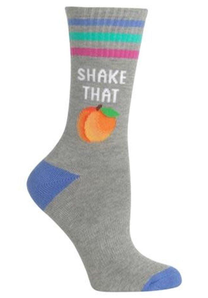Shake That Peach Socks