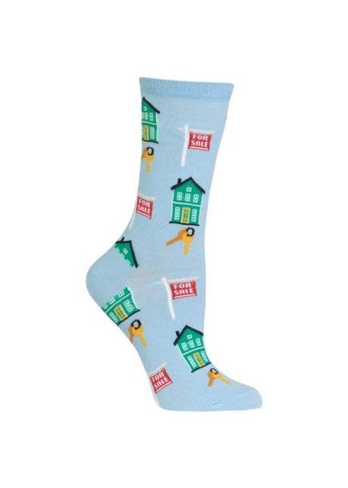 HotSox Realtor House for Sale Socks