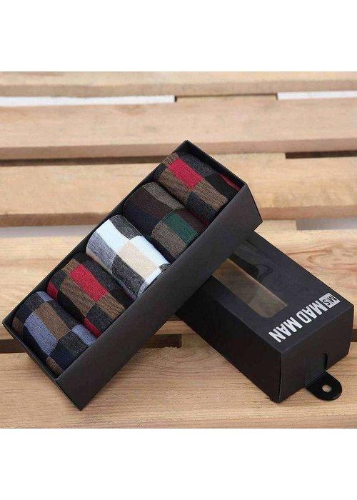 Keyboard Socks 5 Boxed Pair