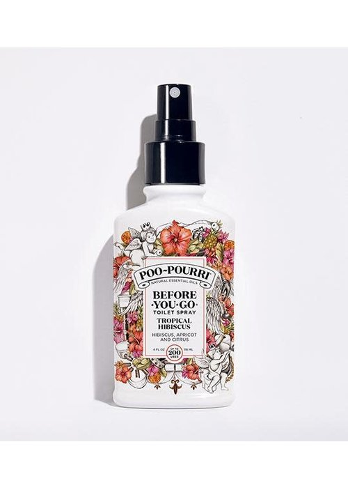 Poo-Pourri Tropical Hibiscus 4oz Bottle