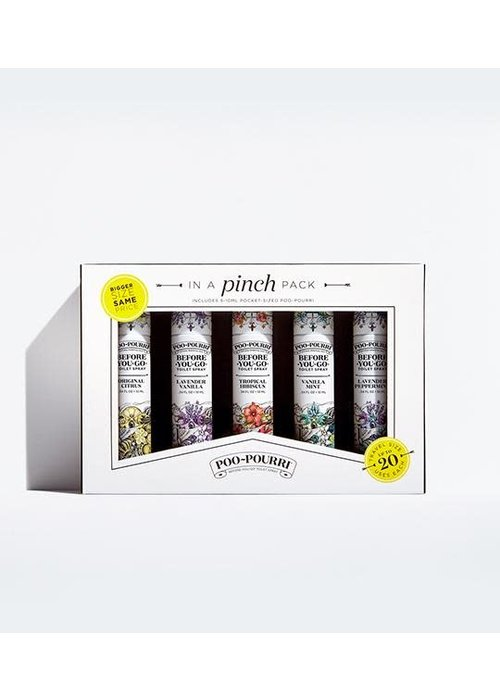 Poo-Pourri In a Pinch Pack Set of 5