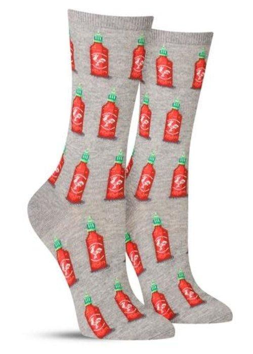 HotSox Hot Sauce Crew Socks