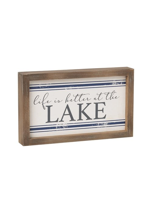 Better at the Lake Flour Sack Sign