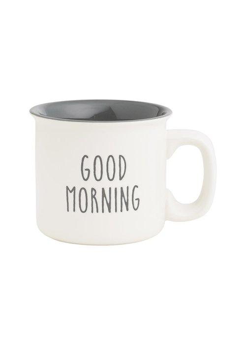 Good Morning Engraved 15oz Porcelain Mug