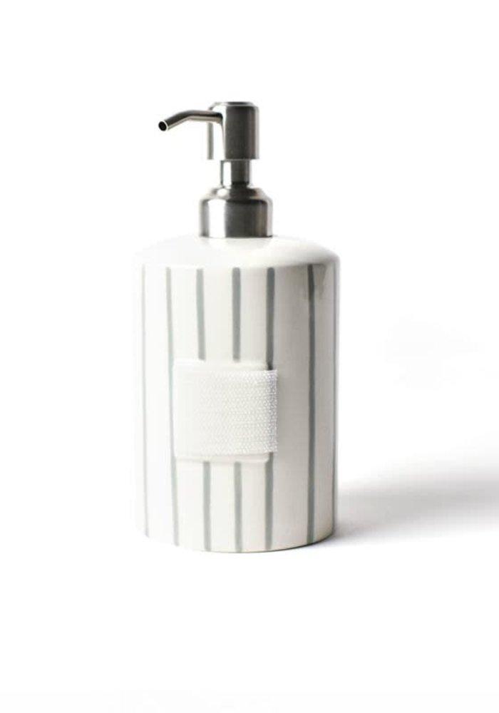 Stone Skinny Stripe Mini Cylinder Soap Pump
