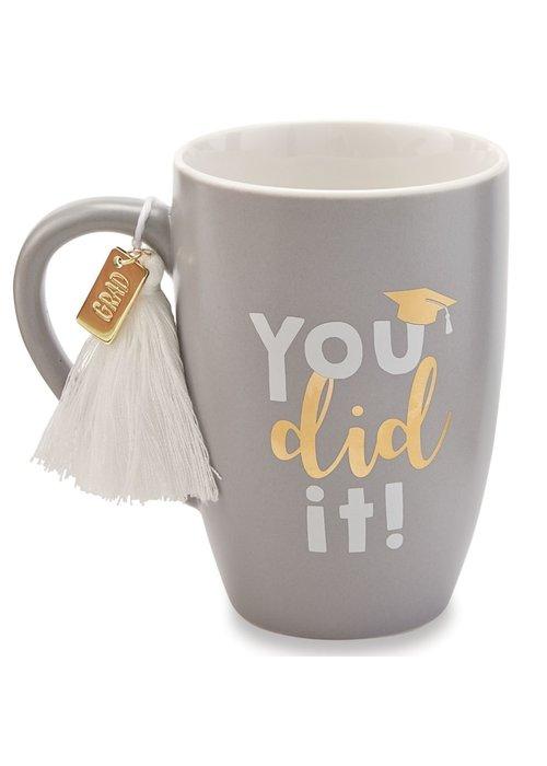 Mudpie You Did It! Tassel Mug