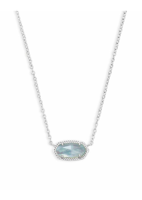 Kendra Scott Elisa Necklace Silver Metal