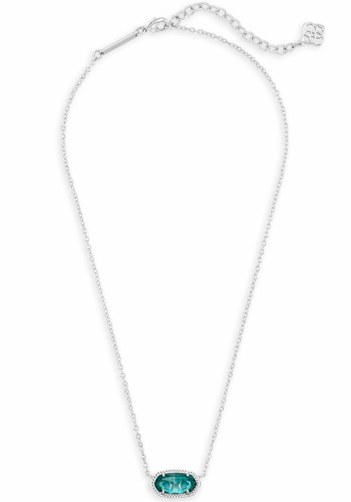 Elisa Necklace Silver Metal