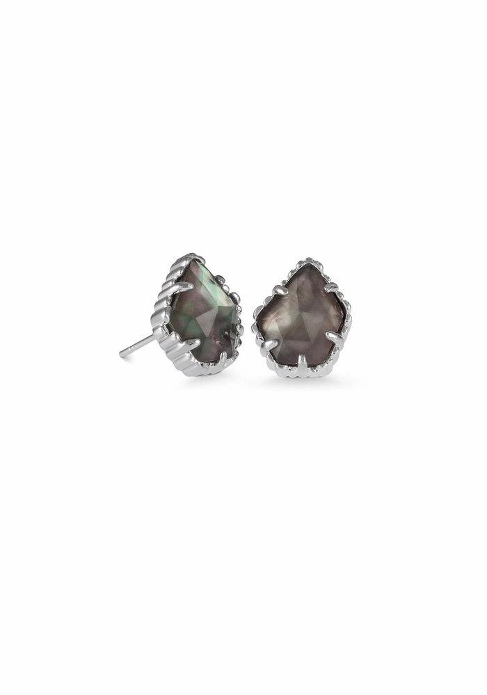 Tessa Earring Silver Metal