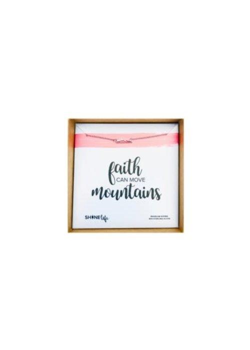 Faith Can Move Mountains Necklace