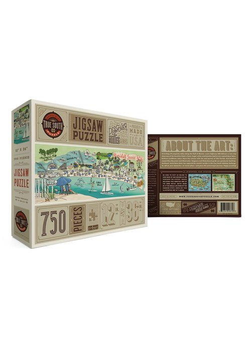 True South Puzzle Company Florida 30A Puzzle