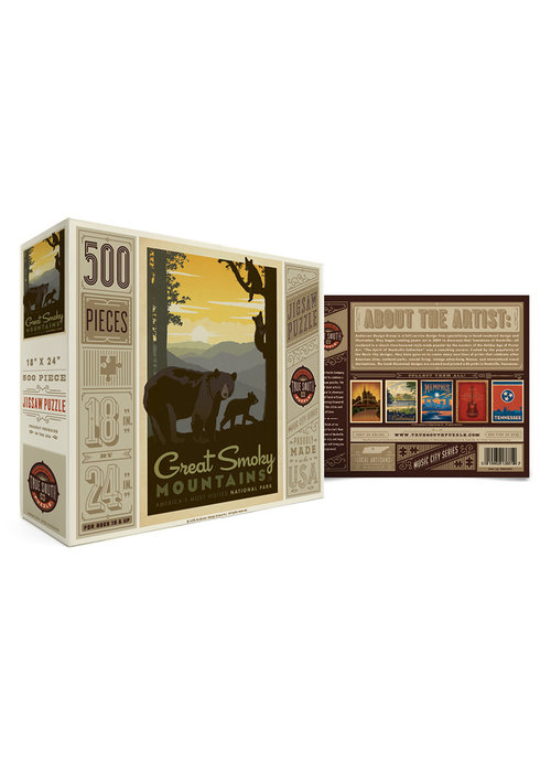 True South Puzzle Company Great Smoky Mountains Puzzle