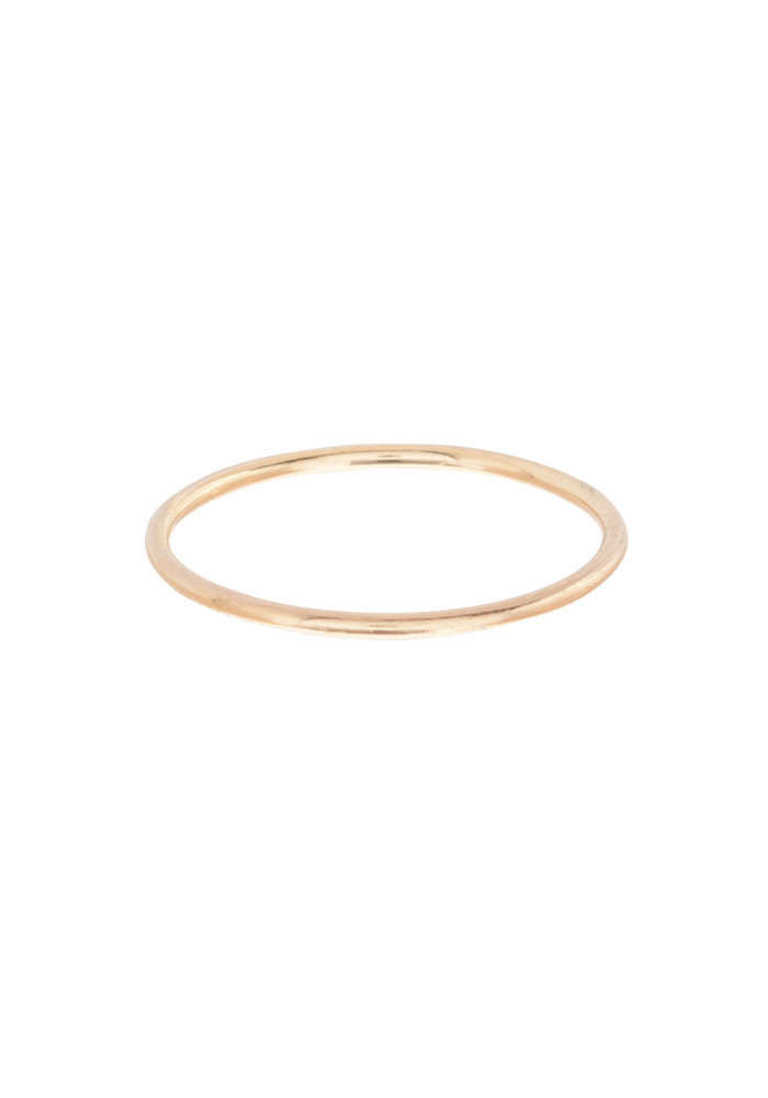 Classic Band Thin Ring