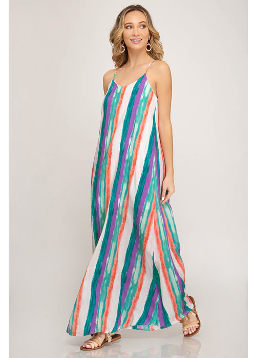 Multi Color Maxie Dress