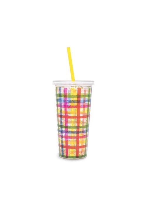 ban.do Block Party Glitter Bomb Tumbler