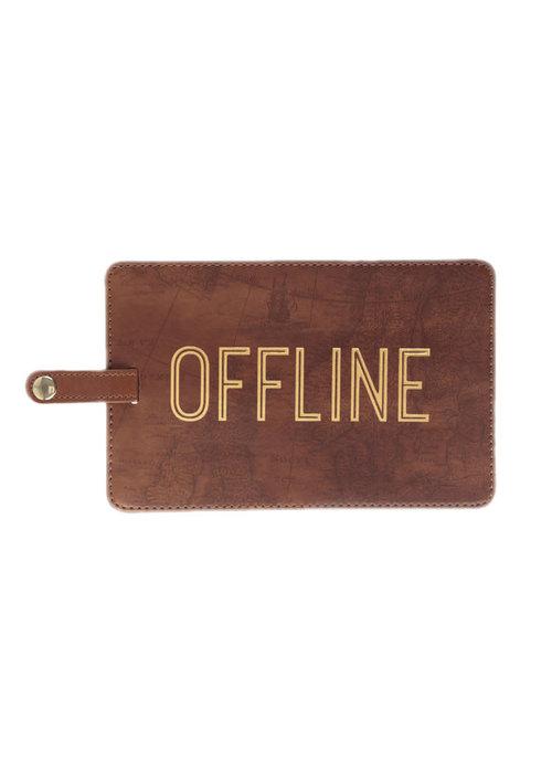 Offline Brown Jumbo Luggage Tag