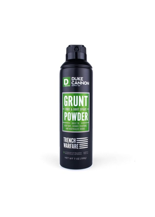 Duke Cannon Grunt Foot & Boot Spray Powder