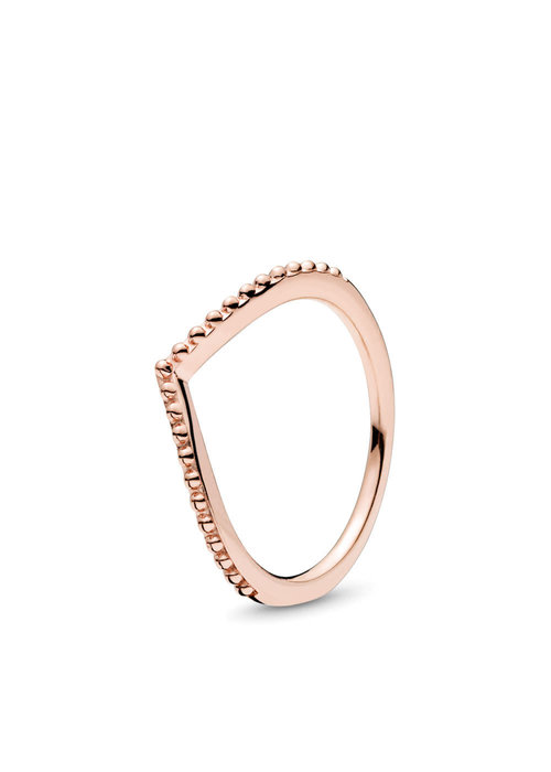 Pandora Beaded Wish Ring, PANDORA Rose™