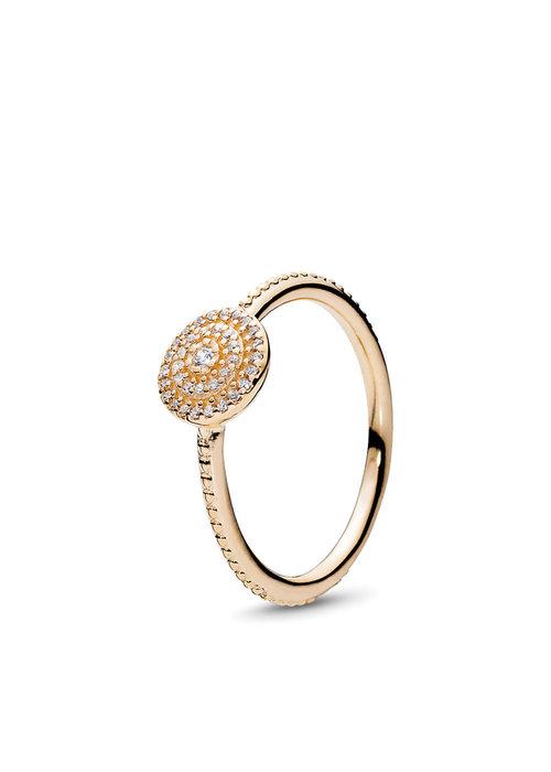 Pandora Radiant Elegance Ring, 14K Gold