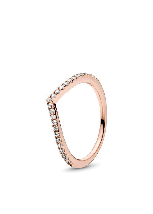 Pandora Shimmering Wish Ring, PANDORA Rose™