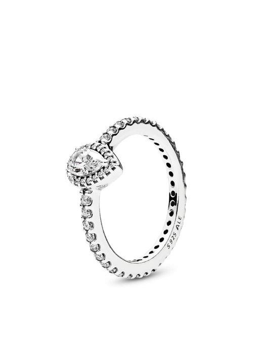 Pandora Radiant Teardrop Ring, Small