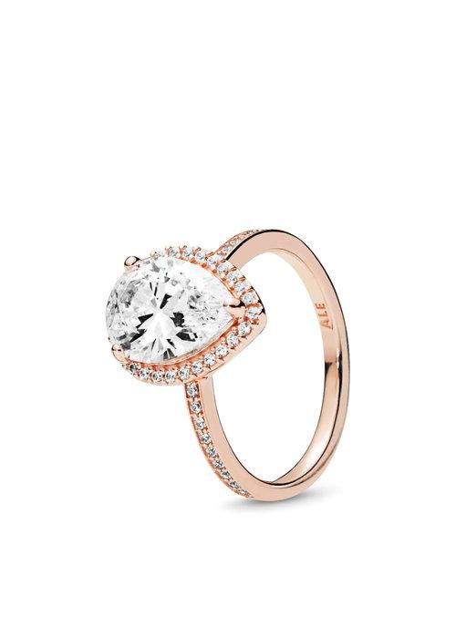 Pandora Radiant Teardrop Ring, PANDORA Rose™