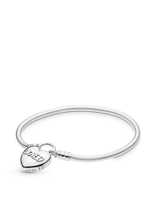 Pandora You Are So Loved Heart Padlock Bracelet
