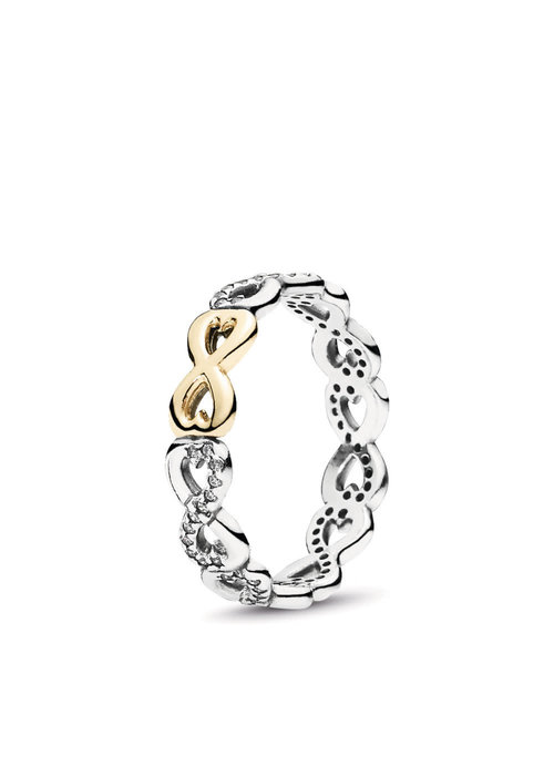 Pandora Infinite Love Ring w/14K Gold