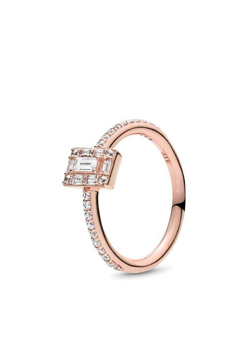 Pandora Luminous Ice Ring, PANDORA Rose™