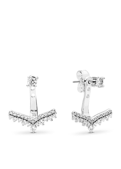 Pandora Princess Wish Earrings