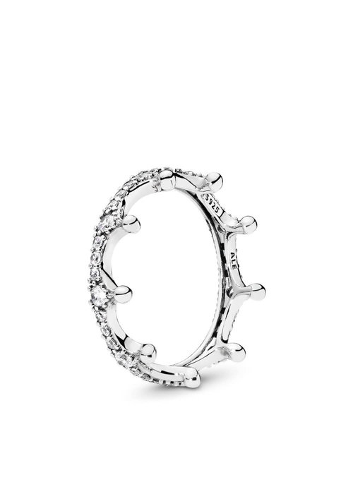 Pandora Enchanted Crown Ring, Clear CZ