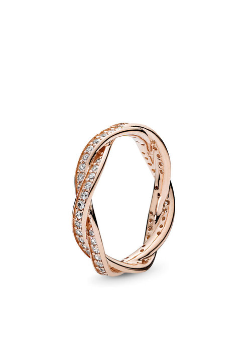 Pandora Twist of Fate Ring, PANDORA Rose™