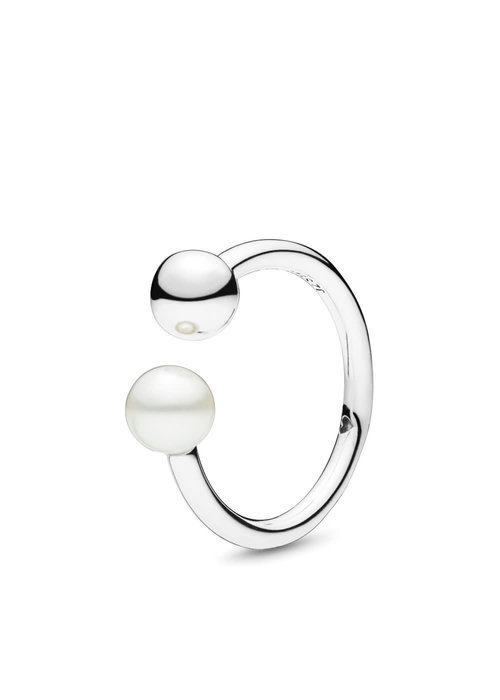 Pandora Contemporary Pearl Ring, Freshwater Cultured Pearl
