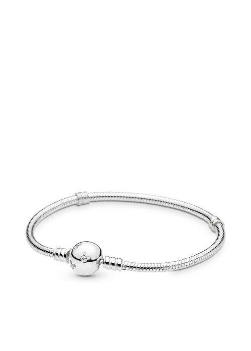 Pandora Disney, Mickey Bracelet, Clear CZ